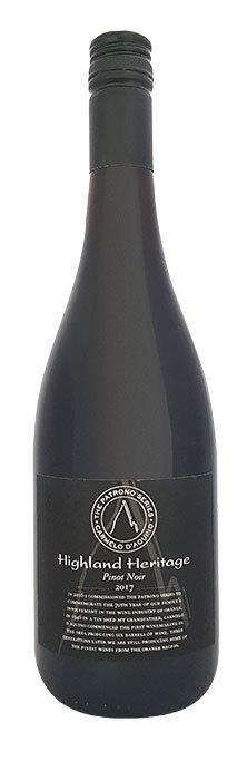 Highland Heritage Patrono Pinot Noir
